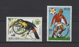 BELIZE.  YT   N° 580/581  Neuf ** 1980 - Belize (1973-...)