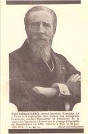 Paul Deroulède Grand Patriote Français - Heimat