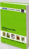 Mittel-Europa MICHEL 2019 Katalog Band 1 New 74€ Europe With Austria Schweiz UN Genf Wien CZ CSR Ungarn FL Slowakei - Crónicas & Anuarios