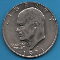 USA 1 DOLLAR 1971 D  Eisenhower Dollar  KM# 203 - Federal Issues
