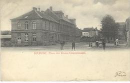 DIXMUDE - DIKSMUIDE : Place Des Ecoles Communales - Cachet De La Poste 1901 - Diksmuide