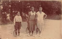 CPA - Photographie - Tennis - Tennis