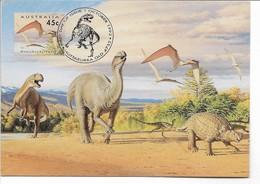 Dinosaur. Australia Pre Paid Postcard   B-3668 - Autres