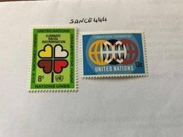United Nations New York Racial Harmony  Mnh 1971  #1 - New York – UN Headquarters