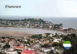 1 AK Sierra Leone * Blick Auf Die Hauptstadt Freetown - Luftbildaufnahme * - Sierra Leone