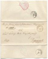 DA FELDPOST N.3 A ZDAUNEK - 23.4.1815. - Austria