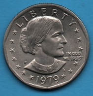 USA 1 DOLLAR 1979 P Susan B. Anthony   KM# 207 - Federal Issues