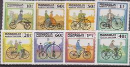 1982 Trasporto/Biciclette/Bicycles Set MNH - Trasporti