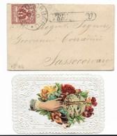 """DA SASSOCORBARO PER CITTA' - 21.12.1894 - """" VERIFICATO """"- VALENTINA. - 1878-00 Umberto I"""