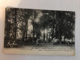 ARRAS Le Square Saint Vasst 2 Octobre 1915 Avec Militaires - Arras