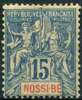 Nossi-Be (1894) N 32 *  (charniere) - Nuovi