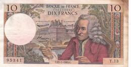 10 FRANCS VOLTAIRE 11/07/1963 - 1962-1997 ''Francs''