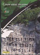 ITALIA 2019 - FOLDER - CENTENARIO DELLA COSTITUZIONE DELL'ASSOCIAZIONE NAZIONALE ALPINI - Militaria