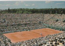 Paris (75016) STADE ROLAND GARROS. Le Court Central, Jour De Match - Tennis