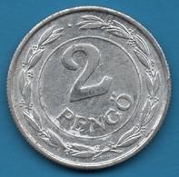 HUNGARY 2 PENGO 1943  KM# 522 - Hungría