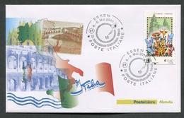 FDC ITALIA 2010 - MANIFESTAZIONE FILATELICA ESSEN - 568 - 6. 1946-.. Repubblica