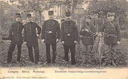 54-LONGWY, ATHUS RODANGE- FRONTIERE FRANCO BELGE-LUXEMBOURGEOISE - Longwy