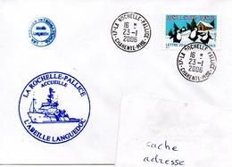 Abeille LANGUEDOC à La Pallice Obl. La Rochelle-Pallice 23/01/06 - Postmark Collection (Covers)