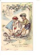 Germaine BOURET : Carte Ancienne  :  édition Combier : Voir Scan Recto Verso - Bouret, Germaine