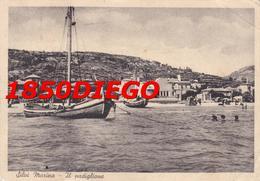 SILVI MARINA - IL PADIGLIONE F/GRANDE VIAGGIATA 1948  ANIMATA - Teramo