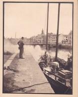 LE CROISIC Le Port 1929  Photo Amateur Format Environ 7,5 Cm X 5,5 Cm - Places