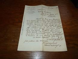 FF6  Document Commercial Facture Emil Lange Hamburg 1902 - Belgique