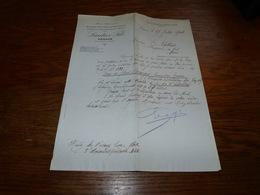 FF6  Document Commercial Facture Lautier Fils Grasse 1904 Matières Premières De Parfumerie Essences Parfums - Belgique