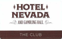 Slotcard / Casinokarte / Playerscard - HOTEL NEVADA - Ely, NV (USA) - Casinokarten