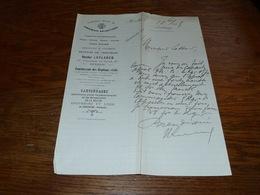 FF6  Document Commercial Facture Hector Leclercq 1903 Cartonnage Maison Kreymborg Et Linde Enschede - Belgique