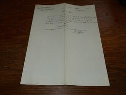 FF6  Document Commercial Facture Pharmacie Emile Lefebure Lombise 1904 - Belgique