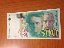 500 F Pierre Et Marie Curie 1994  TTB - 1992-2000 Last Series