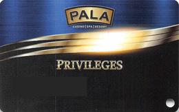 Slotcard / Casinokarte / Playerscard - PALA Casino - Pala, CA (USA) - Casinokarten