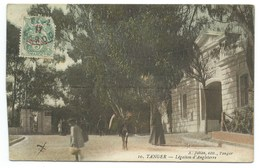 CARTE POSTALE / TANGER MAROC / LEGATION D'ANGLETERRE / 1917 - Tanger