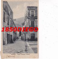 LANZARA - PIAZZA GIUSEPPE LANZARA F/PICCOLO VIAGGIATA ANIMATA - Salerno
