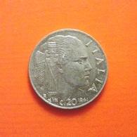 20 Centisimi Münze Aus Italien Von 1941 (sehr Schön) - 1900-1946 : Victor Emmanuel III & Umberto II