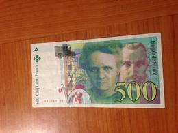 500 F Pierre Et Marie Curie 1995 - SUPERBE ETAT - 1992-2000 Last Series
