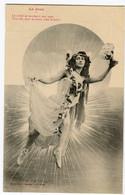 """CPA  BERGERET  Femme   Art Nouveau   """" Le Jour"""" - Bergeret"""