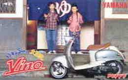 MOTO - AUTO  - VOITURE - AUTOMOBILE - AUTO - CAR -- TELECARTE JAPON - Motorbikes