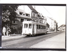 Photo Tram - Zuun - Terminus  (1958) - Sint-Pieters-Leeuw