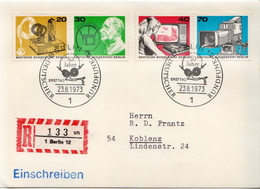 Postal History: Germany Card With Special Cancel - Telecom