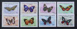 Butterflies Papillons Schmetterlinge El Salvador 1969 / ** MNH - Farfalle