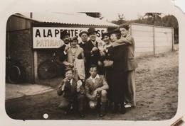 """PHOTO ,Flobecq ,"""" La Houppe """" A La Petite ....se ; Patinage ,( Voir Verso ) - Flobecq - Vloesberg"""