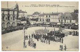 16-COGNAC-Fêtes 14.07.1919 N°2 - Remise Médaille Militaire à 3 Mutilés Par Colonel Ciambelli...  Animé - Cognac