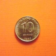 10 Sentimo Münze Von Den Philippinen Von 1997 (sehr Schön) - Philippinen