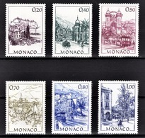 MONACO 1991 - SERIE N° 1762 A 1767 - 6 TP NEUFS** - Monaco