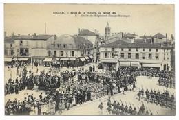16-COGNAC-Fêtes 14.07.1919 N°5 - Défilé Du Régiment Tchéco-Slovaque...  Animé - Cognac