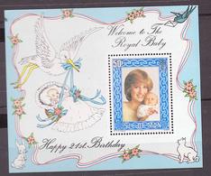 ILE DE MAN 1982 BLOC FEUILLET N° 6 ** (YT) ANNIVERSAIRE LADY DIANA PRINCESSE DE GALLES - Man (Ile De)