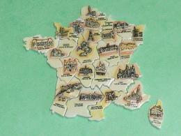 Fèves / Série Complète : Puzzle Des Régions De France - Länder