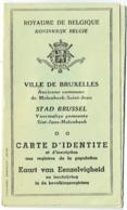 Belgique. Carte Identité. Bruxelles 1943. Marie Bauch Née Arlon 1894 - Documents Historiques