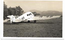 3081i: AK Flughafen Salzburg 1934, A-48 - 1919-1938: Entre Guerres